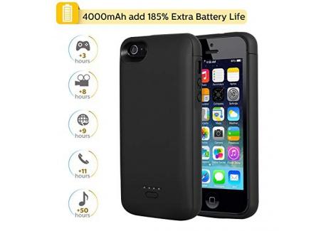 Coque Batterie 5200mAh pour iPhone 7, Mbuynow Chargeur Portable Batterie Externe Puissante Rechargeable 4,7 Pouces Power Bank