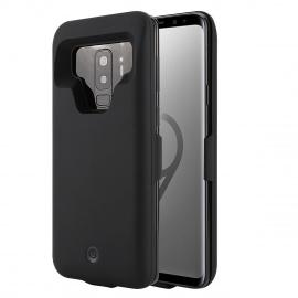 Coque Batterie Samsung Galaxy A8 Plus 2018 7000mAh, Rechargeable Coque avec Batterie, Externe Chargeur Portable Power Bank An