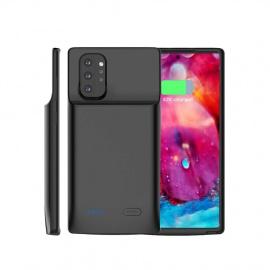 BasicStock Coque Batterie Samsung Galaxy Note10+ 5G, 6000mAh Power Bank Rechargeable étui de Chargeur Prolongée Housse de Bat