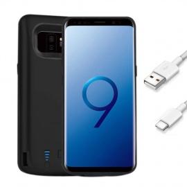 FUNROSE Galaxy S9 Coque Batterie,6000mAh Portable Batterie Chargeur Externe Puissante Rechargeable Power Bank Coque Batterie