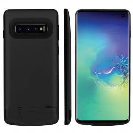 Fey-EU Coque Batterie pour Galaxy S10 Plus, 6000mAh Chargeur Portable Batterie Externe Puissante Power Bank Coque Rechargeabl