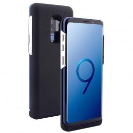 REDGO Coque Batterie pour Samsung Galaxy S9 Plus, 5200mAh Alimentation de Sauvegarde Batterie Externe de Secours Backup Puiss
