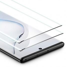 Verre Trempé [Couverture Intégrale] pour Samsung Galaxy Note 10 / Note10 2019  2 Pièces , Film Protection Écran Ultra Rés