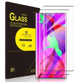 Verre Trempé Protecteur écran pour Samsung Galaxy Note 10, [Dureté 9H] [Couverture Totale] [HD Clear] Protection Film