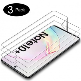 Protection écran pour Samsung Galaxy Note 10+/Samsung Galaxy Note 10 Plus Ultra Clair Anti-Rayures Pet Écran Protecte