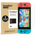 Verre Trempé pour Nintendo Switch [Garantie à Vie], Film Protection écran Protecteur Lot de 2