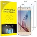 Film de Protection décran pour Samsung Galaxy S6 en Verre Trempé, Lot de 2