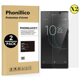 Verre Trempe SONY XPERIA L1 - Film Protection Ecran Verre Trempe [Pack de 2]