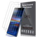 Protection écran pour Sony Xperia 10, [3 Pièces] Verre Trempé [Garantie de Remplacement à Durée de Vie] Screen Protector F