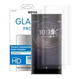 2 Films Protection écran en Verre trempé Sony XA2 incurvé 3D protège la totalité de l'écran