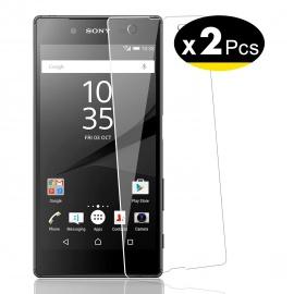 Verre Trempé pour Sony Xperia Z5,[Pack de 2] Film Protection écran - Anti Rayures - sans Bulles dair -Ultra Résistant