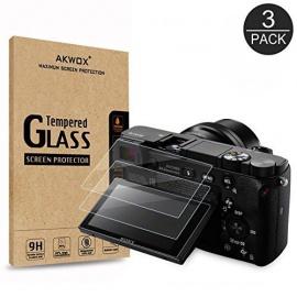 Verre Trempé Sony DSLR Alpha A6000 A6300 A5000 NEX-3 NEX-5 NEX-6 NEX-7, [Lot de 3]
