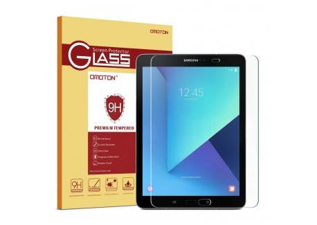 """OMOTON Samsung Galaxy Tab S2 9.7"""" SM-T813/S3 SM-T820 Protection décran Verre Trempé  9H,sans Bulles"""