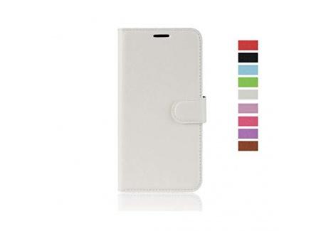 cookaR Coque DoogeeY8, Housse en Cuir Premium Flip Case Portefeuille Etui pour DoogeeY8 Smartphone -Noir