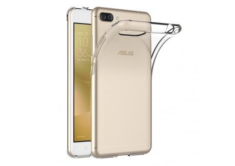 AICEK Coque ASUS Zenfone 4 Max ZC520KL, Transparente Silicone Coque pour ASUS Zenfone 4 Max ZC520KL Housse Silicone Etui Case