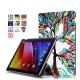 Skytar Etui pour Tablette Asus ZenPad 10,Folio Case Cover étui en Cuir Coque pour Asus ZenPad 10 Z300C/Z300M/Z300CL/Z300CG/Z3