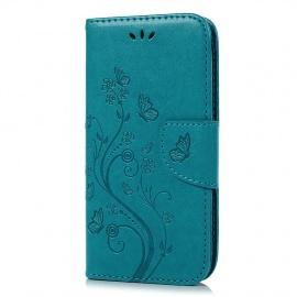 Coque ASUS Zenfone Go ZB500KL 5.0inches PU Case en Cuir Clapet Carte Slots Magnétique Emplaceme