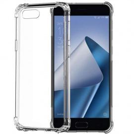 Coque ASUS Zenfone 4 Max ZC520KL, Transparente Bumper TPU Housse Ultra Fine Anti Choc Silicone Protection Etui pour ASU