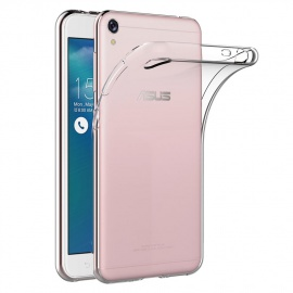 Coque ASUS Zenfone Live ZB501KL, Transparente Silicone Coque pour Zenfone Live ZB501KL Housse  5,0 Pouces  Silicone Etu