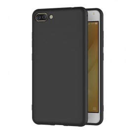 Coque ASUS Zenfone 4 Max ZC520KL, Noir Silicone Coque pour Zenfone 4 Max ZC520KL Housse ASUS ZC520KL Noir Silicone Etui