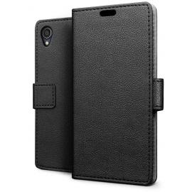 Coque ASUS ZenFone Live L1 ZA550KL, Etui Portefeuille Flip PU Cuir Mince Premium Magnétique