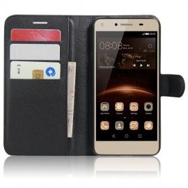 Coque Huawei Y5II / Huawei Y5 Coque PU Cuir Portefeuille