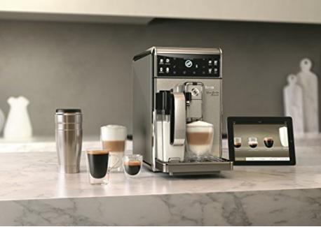 Saeco HD8977/01  Machine à Espresso connectée Granbaristo Avanti