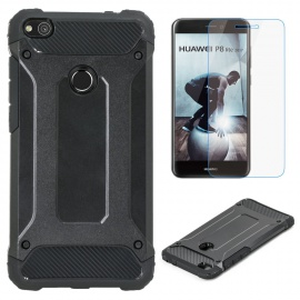 Coque Huawei P8 Lite 2017 + Verre Trempé Film Protecteur d'écran