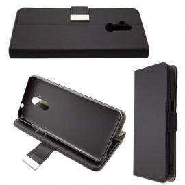 Coque pour Ulefone P6000 Plus, Bookstyle-Case Étui de Protection Antichoc pour Smartphone  Coque de Coloris Noir