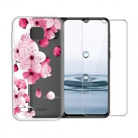 Coque Ulefone Note 7 Coque Anti-Rupture Silicone Bumpe Transparent Gel TPU Souple Housse Etui Protection Case + F