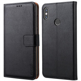 Coque Xiaomi Redmi Note 5 Cuir Portefeuille de Protection