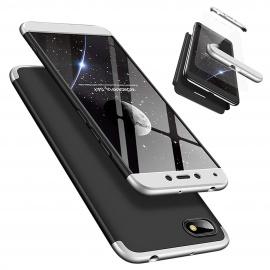 Coque Xiaomi Redmi 6A, LaiXin Étui Xiaomi Redmi 6A + Verre Trempé 360 degrés