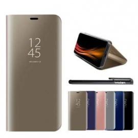 Coque Xiaomi Redmi 6 / Redmi 6A, Luxe Placage Effet Étui à Rabat en PU Cuir