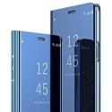 Coque Xiaomi Redmi Note 7 Coque Etui Placage Miroir à Rabat en Cuir