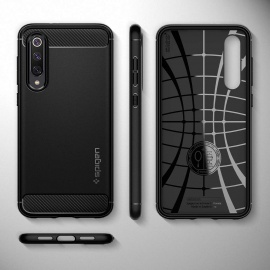Coque Xiaomi Mi 9 Se Souple Silicone Noir Mat Anti-Rayure
