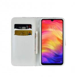 Coque Xiaomi Redmi Note 7 Pro Housse Cuir Laser Paillettes