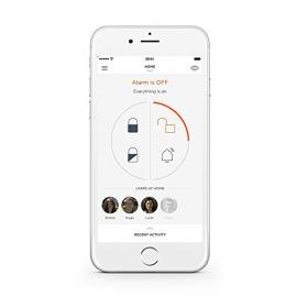 Système de sécurité intelligent sans fil Myfox Home Alarm Android iOS