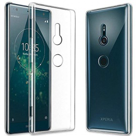 GEEMEE Coque Sony Xperia XZ3, Transparente Gel Silicone TPU Housse Etui de Protection, [ Souple Cristal ] [Anti-Rayures ] [ A