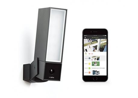 Netatmo Presence Caméra de sécurité extérieure avec détection de personnes/voitures/animaux