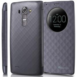 """GreatShield Coque pour LG G4/LG G4 Plus  5.5"""" ,Quick Circle Étui à Rabat,Livre Etui folio,Housse Protection avec Fenêtre Circ"""