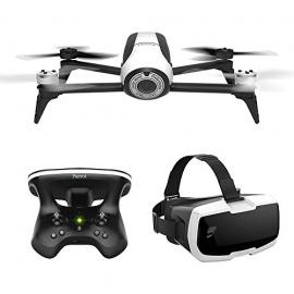 Parrot Bebop 2 Pack de Drone/Lunette FPV/Skycontroller pour Smartphone/Tablette Blanc