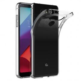 AICEK Coque LG G6, Transparente Silicone Coque pour LG G6 Housse  5,7 Pouces  Silicone Etui Case