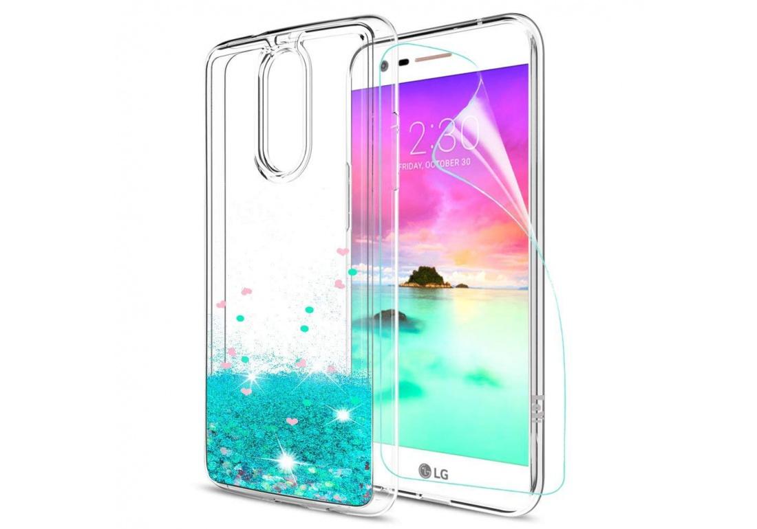 COPHONE/® Coque 360 degr/ès Transparente en Gel LG K10 2017 Protection Integral et Invisible Haute qualit/é
