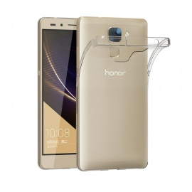 Coque Honor 7, Etui Silicone Gel Honor 7 Housse Antichoc Honor 7 Transparente Souple Coque de Protection pour Huawei Ho
