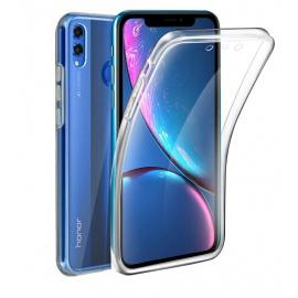 AURSTORE Coque 360 Degré Huawei Honor 8X - Protection intégrale Avant + Arrière en Rigide, Housse Etui Pochette Tactile Prote