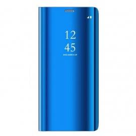 Alsoar®Coque Huawei Honor 8X, Cover 360 °de Protection Intelligente Vue Claire Miroir De Electroplate Placage Kickstand Carac