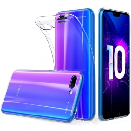 "Peakally Coque Huawei Honor 10, Ultra Fine TPU Silicone Transparent Souple Housse Etui Coque pour Huawei Honor 10 5.8"", Adhér"