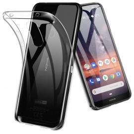 TopACE Coque pour Nokia 3.2, Etui en TPU Souple et Transparente Housse pour Nokia 3.2  Transparent