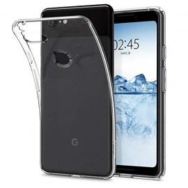 Spigen Coque Google Pixel 3 [Liquid Crystal] [Transparente Souple Flexible] Coque Résistante, Anti Rayure, Coque Etui Housse