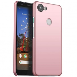 """Richgle Coque Google Pixel 3a, Or Rose Très Mince Protection Coque Étui Housse Rigide Case Cover pour Google Pixel 3a  5.6"""""""